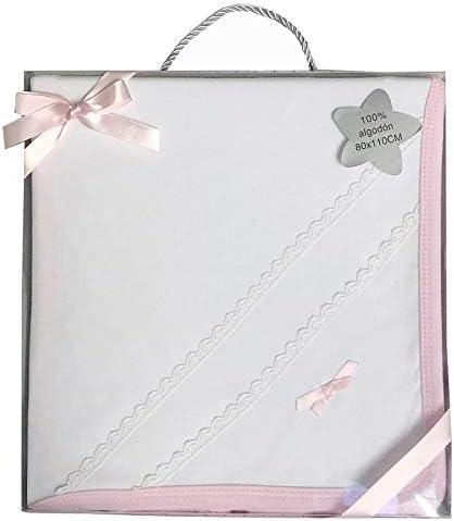 Duffi Baby 0633-06 - Arrullo estampado 100% algodón, 80 x 110 cm: Amazon.es: Bebé
