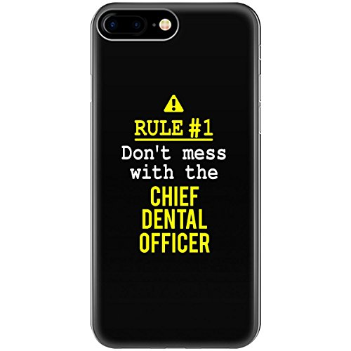 Cheap  Don't Mess With The Chief Dental Officer - Phone Case Fits Iphone..