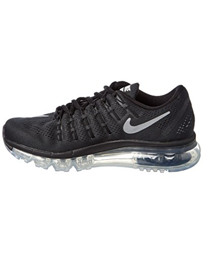 NIKE Donna Max White Scarpe Wmns Black Blanco Ginnastica 2016 da Air 0q4rE0