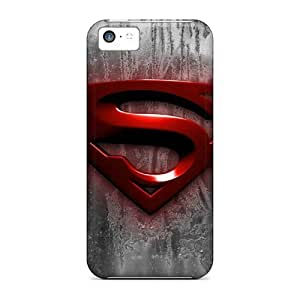 RentonDouville Scratch-free Phone Cases For Iphone 5c- Retail Packaging - Superman