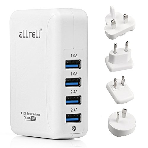 Charger aLLreLi Intelligent International Adapters