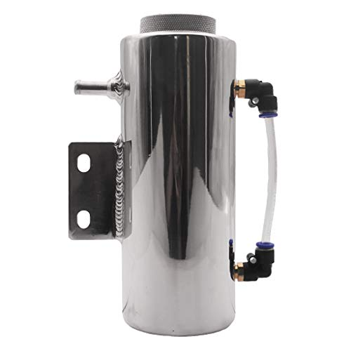 Flameer Stainless Steel Durable Radiator Coolant Overflow Puke Tank Polished Light Weight Cooling Radiator Water