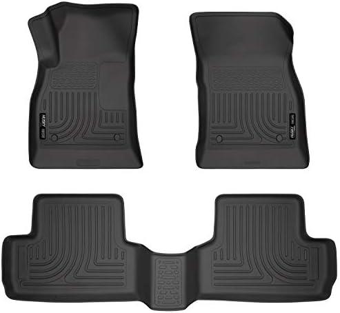 Husky Liners 98171 Fits 2012-17 Buick Verano Weatherbeater Front & 2nd Seat Floor Mats, Black