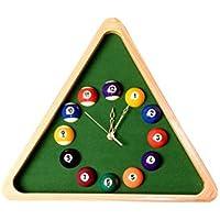 Billiard Triangle Wall Clock
