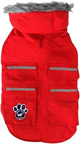 UPC 628284010098, Canada Pooch Everest Explorer Vest - Red Reflective - 12