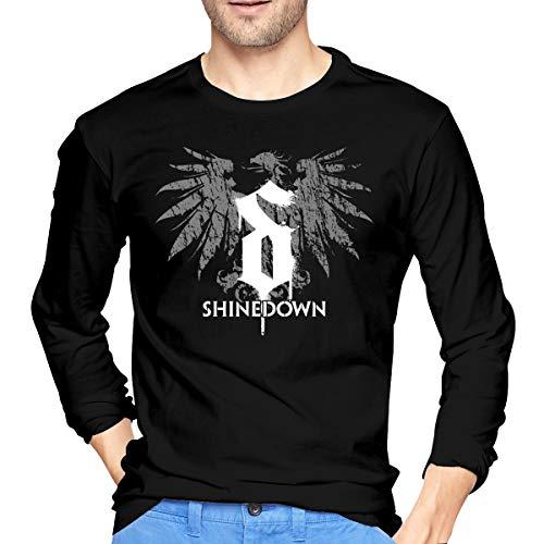SeanDouglas Man's Shinedown Music Long Sleeve Tee Shirt XL Black