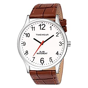 Men's Watch (Brown Colored Strap)