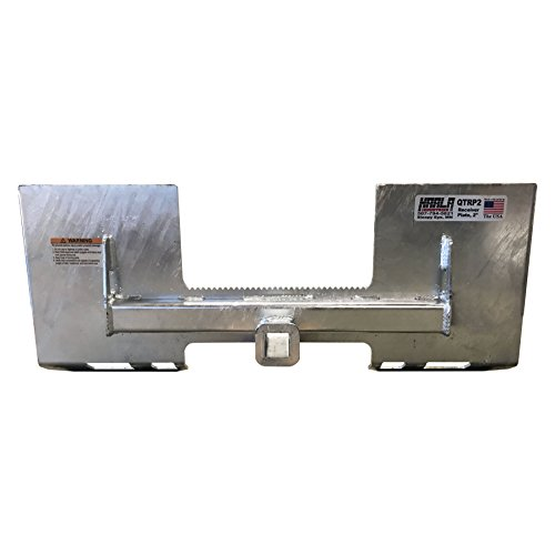 Skid Steer Trailers (Skid Steer Loader Quick Attach Plate Receiver Hitch 2