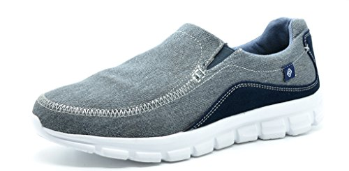 Dream+Pairs+Men%27s+Sport+Light+Weight+Flexible+Athletic+Free+Running+Comfort+Walking+Slip+On+Shoes+Sneakers%2C+151007-grey-navy+-+10.5+D%28M%29+US