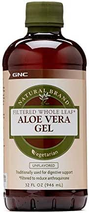 Natural Brand Aloe Vera Gel, 32 fl. oz, Supports Digestive Health