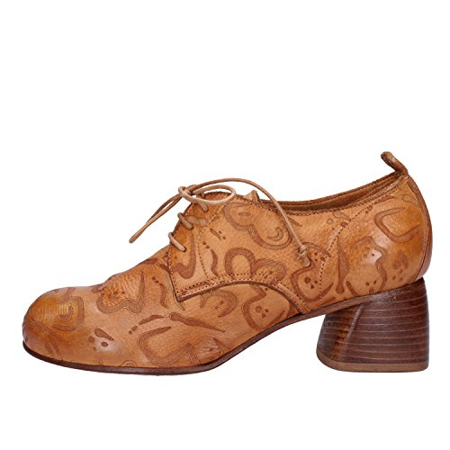 Women's 4 37 4 Pelle Eleganti Marrone Brown 37 Uk Leather Moma Elegant ue Donne In eu Delle Moma Uk Etvtfw1q