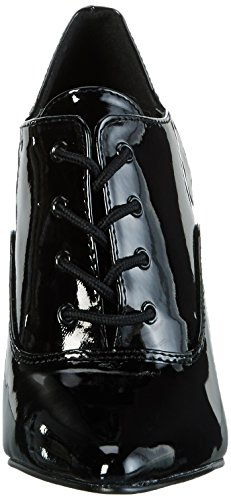 EU Donna Damen Nero 12 UK 45 Pleaser Stivaletti 460 Seduce pfqw7Fa
