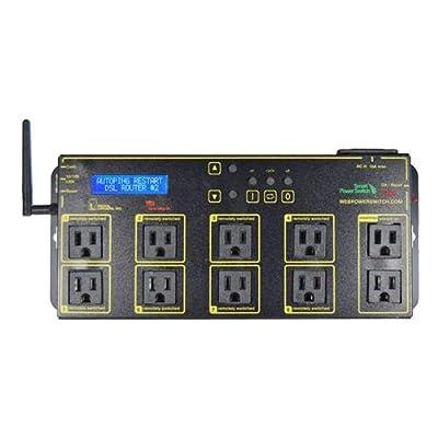 DIGITAL WiFi WEB POWER SWITCH WLCD SCREEN 10 OUTLETS / LPC7-PRO /
