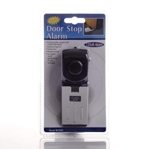 Great for Traveling Security Door Stopper doorstop Safety Tools for Home 3 Pack Upgraded Door Stop Alarm