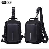 New Fashion one Shoulder Slung USB Charging Men and Women Shoulder Bag Canvas Sports Bag Outdoor Travel Leisure Chest Bag