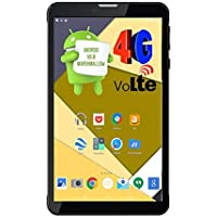 Ikall N4 Tablet (7 inch, 8GB, 4G + LTE + Voice Calling), Black