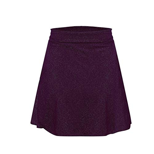 Lavany  Women's Skirts Sexy No See-Through A-Line Club Evening Party Mini Skirt Purple by Lavany  (Image #2)
