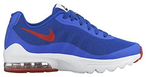 Nike Air Max Invigor (Gs), Zapatillas de Running Para Niños Azul / Rojo / Blanco (Rcr Bl / Unvrsty Rd-Obsdn-White)