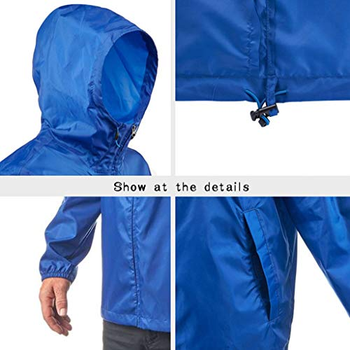 Buen rainwear Impermeable Chaqueta Montar Adulto tamaño Metro Montañismo Senderismo Poncho Almacenamiento Ropa Lyp Para Hombre Portátil 7SdUSqw