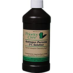 DURVET 698886 Priority Care Hydrogen Peroxide 3% Solution , 16 oz