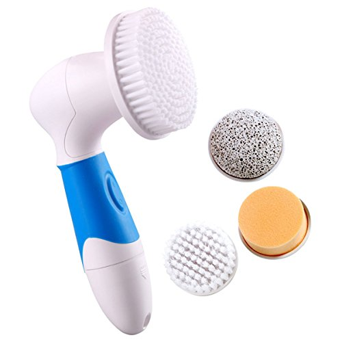 Rotary Facial Cleansing Brush (Blue)