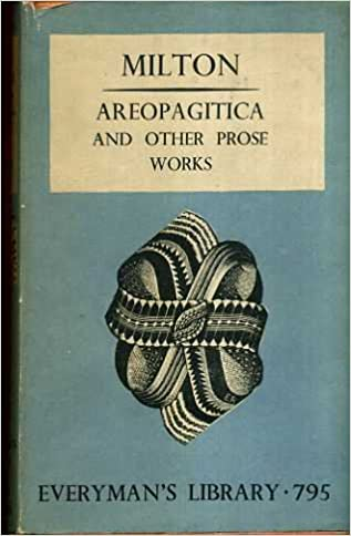 areopagitica and other prose works everyman s library essays  areopagitica and other prose works everyman s library essays and belles lettres