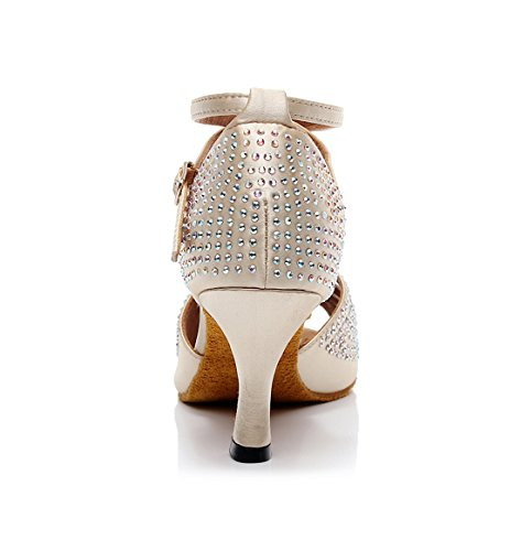 Beige Moderno 5cm Joymod Beige Heel e 7 35 Jazz MGM Donna wqX4f6t