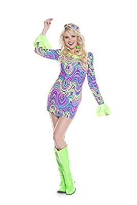 Music Legs Women's Psychedelic Hippie Chick