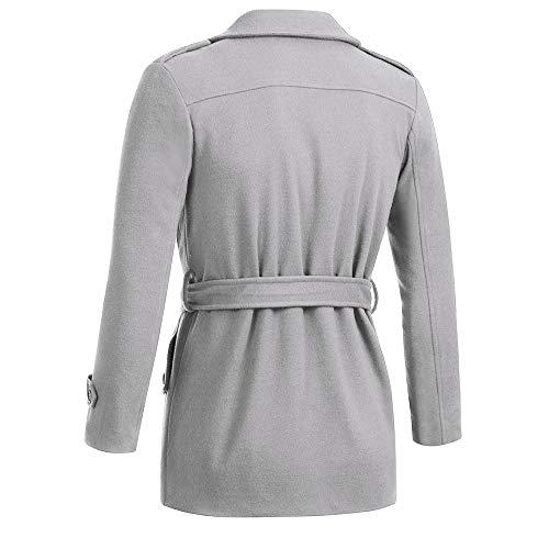 Oto Aimee7 Slim abrigo Chaquetas Ropa Abrigo Chaquetas Hombre Invierno de Fit Tops C o rExAEqZ