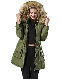Amazon.com: Greens - Fur & Faux Fur / Coats, Jackets & Vests ...