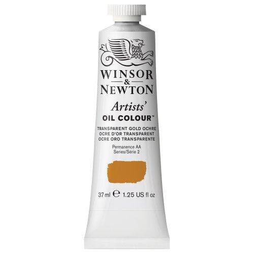Winsor & Newton Artists' Oil Colour Paint, 37ml Tube, Transparent Gold Ochre ()
