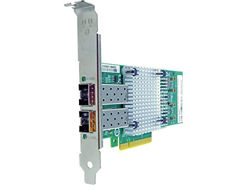 PCIE X8 10GBS DUAL PORT FIBER NETWORK ADAPTER FOR ...