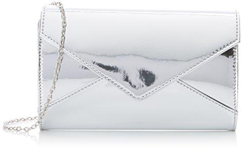 Argent Pochettes Swankyswans Lena Patent Silver Envelope waIIqT