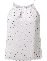 Plus4u Women's Plus Size High Neck Pleated Top