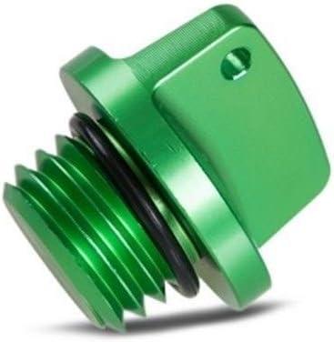 For Kawasaki Ninja 650 1000 400 600 ER4N ER6F ER6N Z800 Z1000 Z650 ZXR750//R VERSYS 650 1000 Oil Filler Cap Plug Green Oil Filler Cap