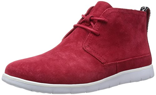 UGG Australia Mens Freamon Suede Boot Red Size 9