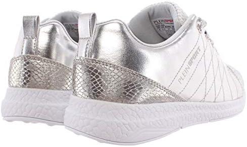 Plein Sport Sneakers Femmes Runner Gisella Silver Argent Glitter