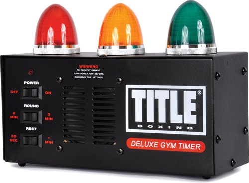TITLE Boxing Deluxe Gym Timer by Title Boxing
