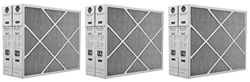 Clean 16 MERV 16 Filter 20-Inch x 25-Inch x 5-Inch (3 X Pack of 2) ()
