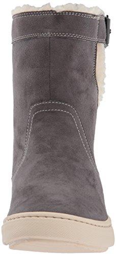Women Suede Blake Fashion Roxy Mid Sneaker Shoe Charcoal Faux ZxdqnwP