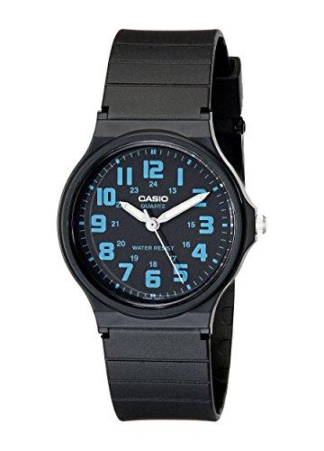 Casio Unisex MQ-71-2BCF Classic Luminous Hands Watch with Black Resin Band