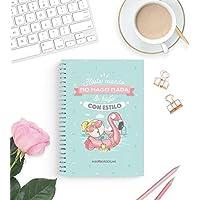 Missborderlike - Cuaderno A5 - Hasta cuando no hago nada lo hago con estilo