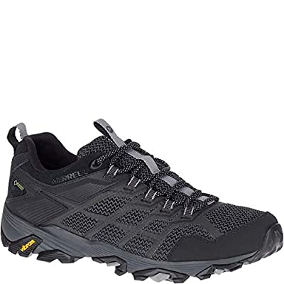 Merrell Moab FST 2 Low Gore TEX Men's Black Hiking Shoes Size 12.5   Hiking Shoes