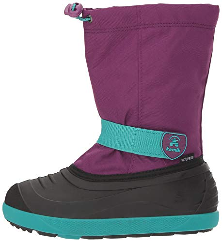 Pictures of Kamik Girls' JETWP Snow Boot, Purple/Teal, 9 Medium US Toddler 5
