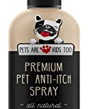 dog anti itch spray - NEW Premium Pet Anti Itch Oatmeal Spray & Scent Freshener! ALL NATURAL & Hypoallergenic! Soothes Dogs & Cats Itchy, Dry, Irritated Skin! Reduces Odor & Leaves Pet Smelling Amazing! 1 btl - 8oz