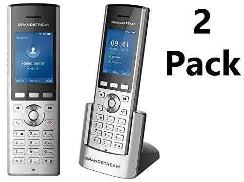 2-Pack Grandstream WP820 Portable WiFi Phone