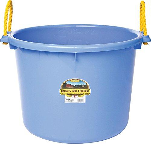 MILLER MFG CO INC P Little Giant Muck Tub Blueberry 70 Quart from Miller