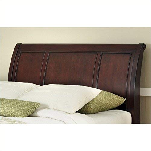 (Lafayette Cherry Queen/Full Sleigh Headboard by Home Styles)