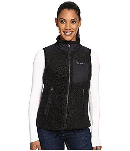遅らせる問題一般的なマーモット Marmot レディース コート Black Wiley Vest [並行輸入品]