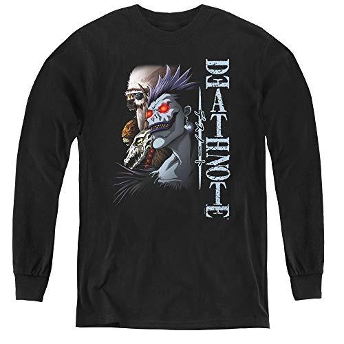 Death Note Youth Long Sleeve T Shirt, Medium Black